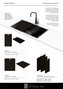 Zomodo Fibre-Rock® Cutting Boards