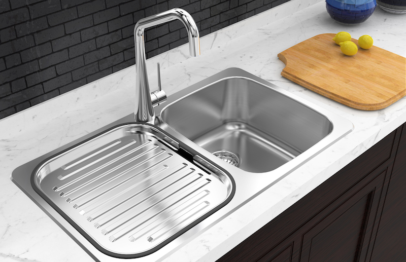 TradeSinks Deccor Kitchen Sink Canada