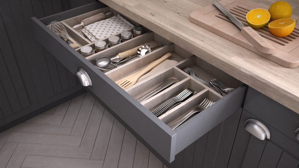 Spencer and Co Kitchen Drawer Organise Cutlery Canada